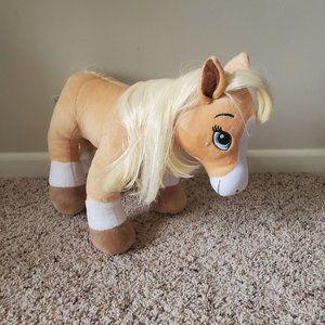 Build A Bear Palomino Horse Pony Stuffed Plush